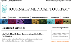 Journal of Medical Tourism - nursing journal